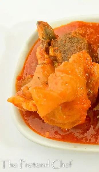 Omi Obe (Stew), Nigerian Stew