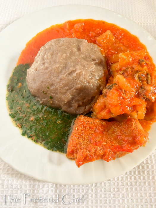 Simple Ewedu soup