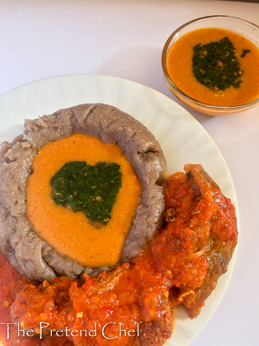 Gbegiri, Creamy yoruba beans soup