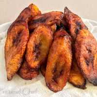 Fried plantain recipe