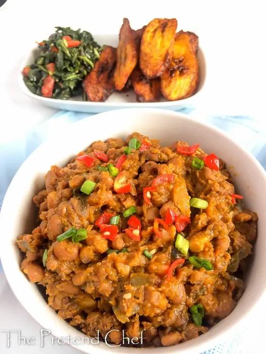 Healthy, delightfully tasty nigerian beans porridge