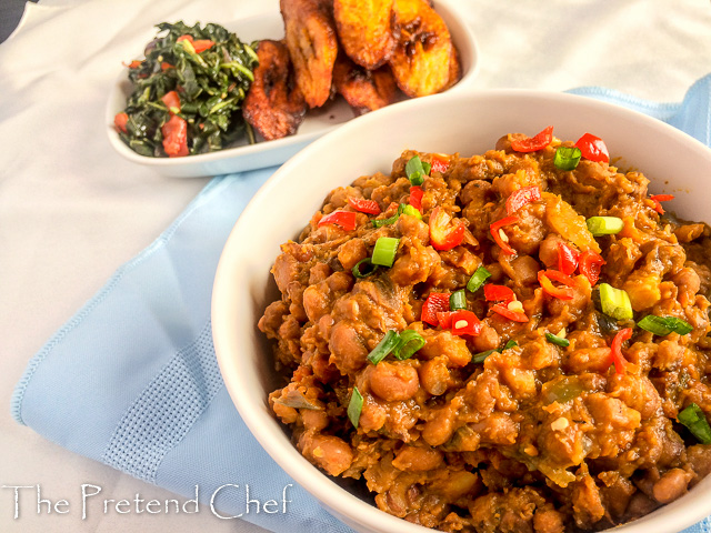 Healthy, delightfully tasty nigerian beans porridge
