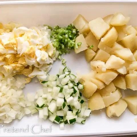Nigerian Irish Potato Salad Recipe