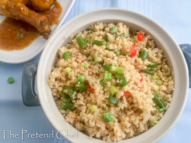 Flavourful vegetable couscous
