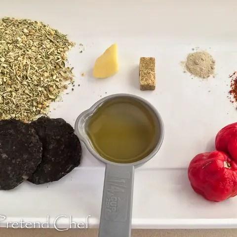 ingredients for miyan kubewa