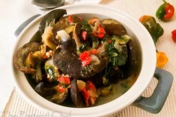 Nigerian Snail Pepper Soup