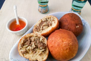 Tender Beef and Rice filled Buns