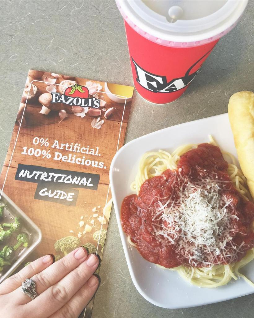 AD Did you know Fazolis now has ZERO artificial ingredients?hellip