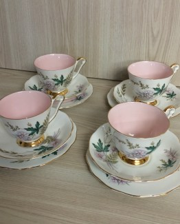 teacup trio set hire