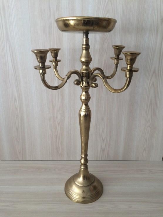 gold candelabra hire nz