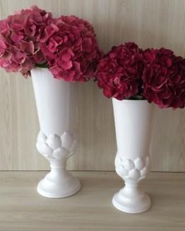 white vase hire auckland new zealand