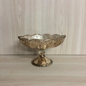 gold mercury glass vase hire auckland new zealand