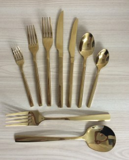 gold cutlery rental auckland