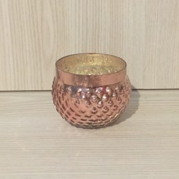 rose gold mercury glass tealight holder hire auckland new zealand