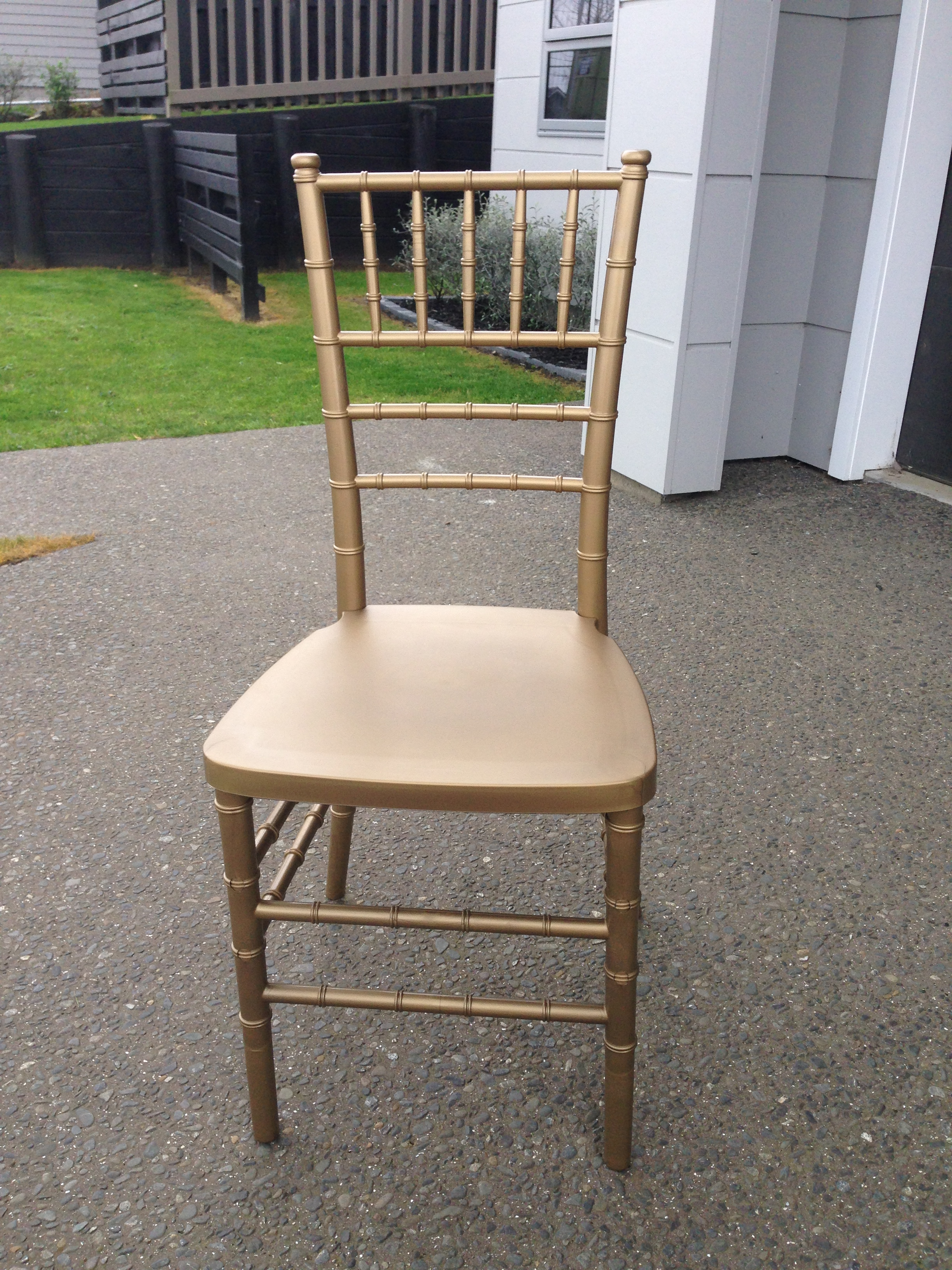 Chiavari Tiffany Chair Gold
