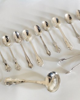 vintage teaspoon hire