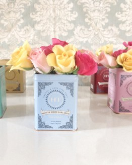 tea canister vase hire