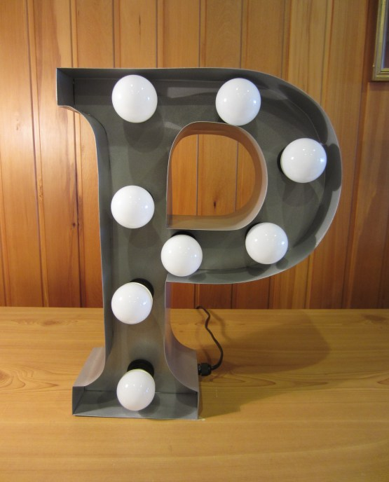 marquee letter light hire auckland