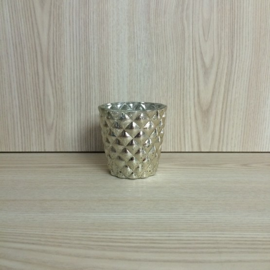quilted gold tealight holder hire auckland
