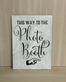 photobooth sign hire nz