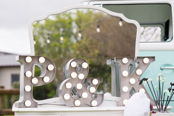 marquee letter light hire
