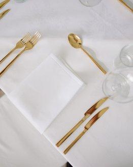 gold cutlery hire nz
