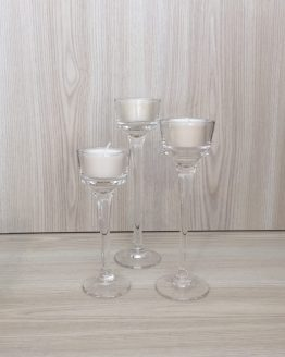 clear stem tealight holder hire auckland new zealand