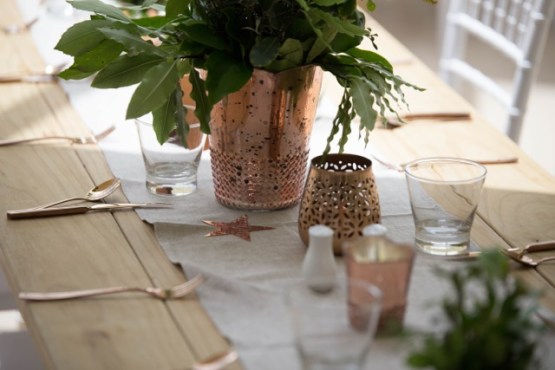 rose gold vase hire auckland new zealand
