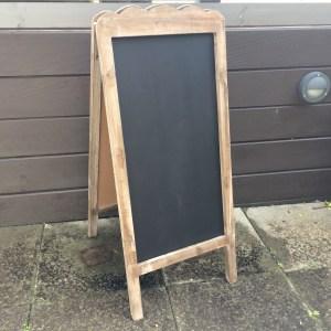 wooden chalkboard hire nz