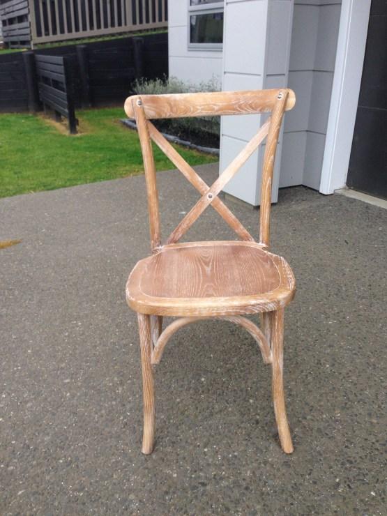 bentwood cross back chair hire nz