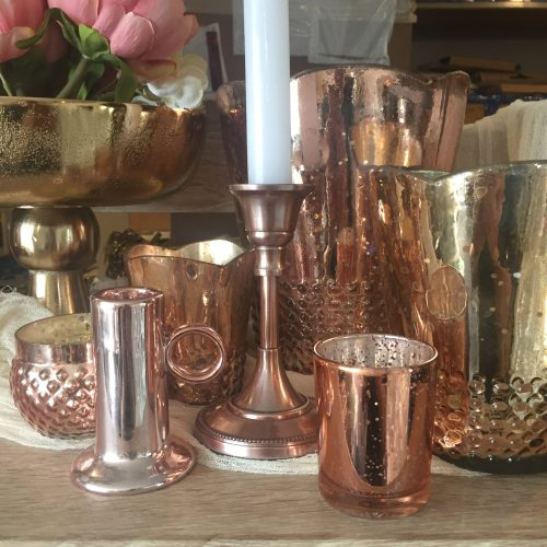 rose gold copper decoration hire auckland new zealand