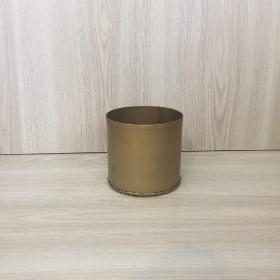 gold cylinder vase