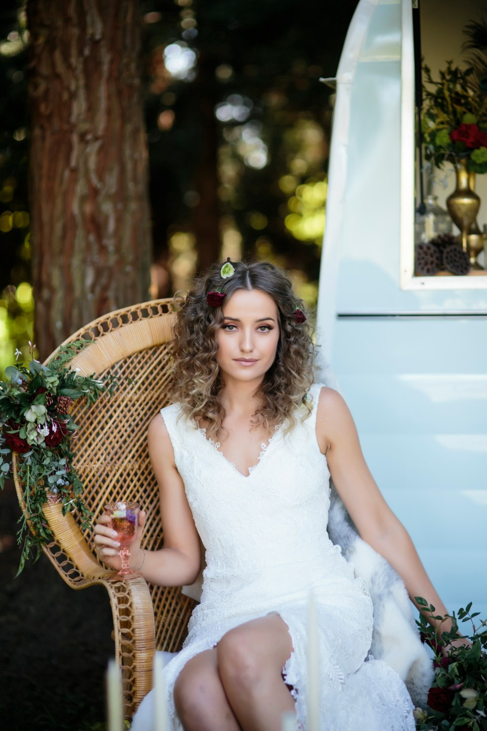 woodland styled shoot nz