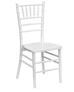 white chair hire nz