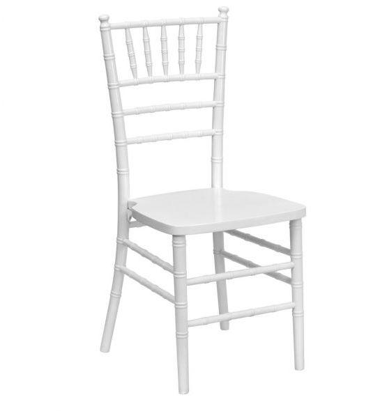 white chair hire nz