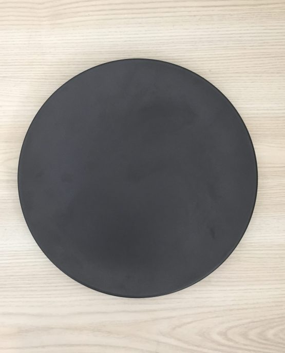 black dinner plate hire auckland