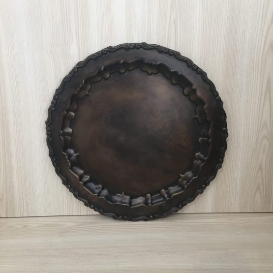 antiqued brass tray hire nz