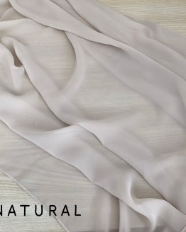 natural chiffon runner hire nz