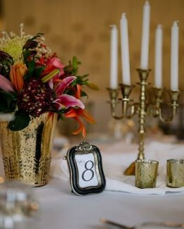 gold candelabra hire nz