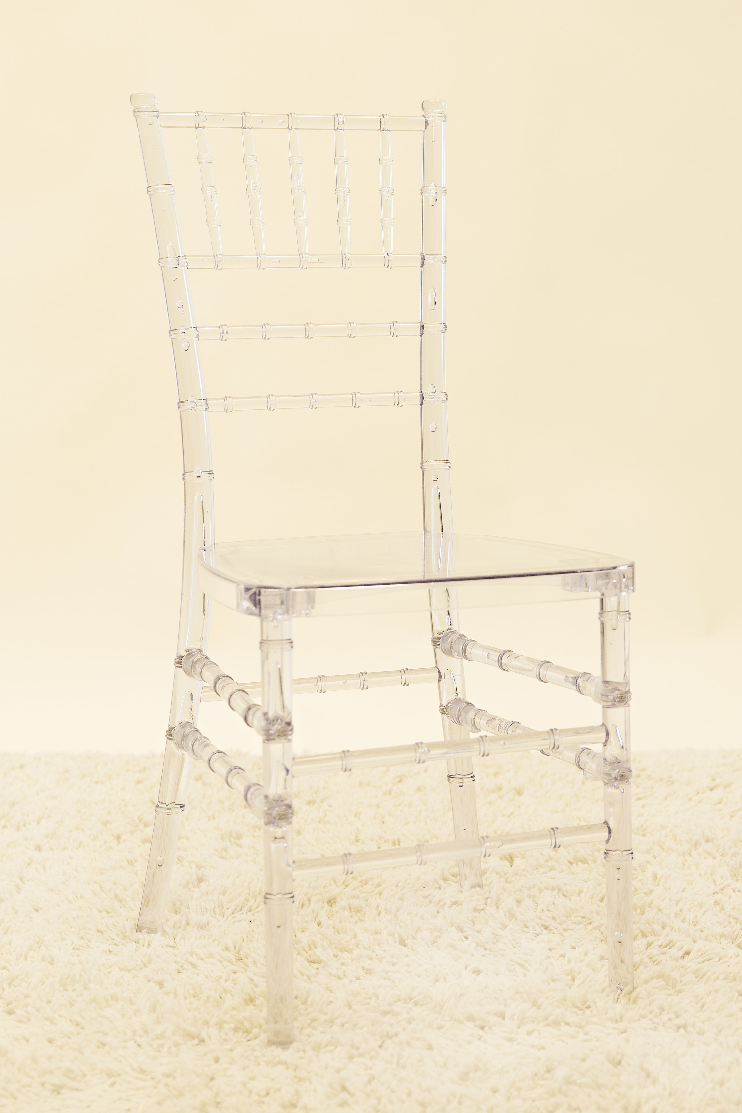 Chiavari (Tiffany) Chair - Clear Ghost