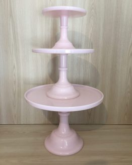 pink cake stand hire new zealand