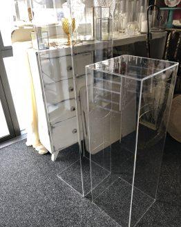 acrylic plinth hire auckland