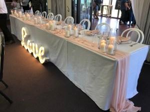 table centrepiece hire auckland nz