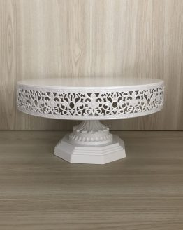 white cake stand hire nz