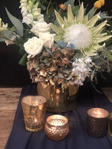 gold cylinder vase hire nz