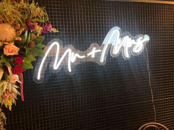 wedding neon sign hire nz