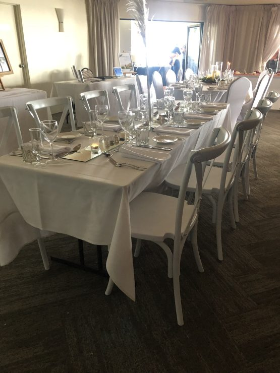 White Cross Back Chair Hire Auckland NZ