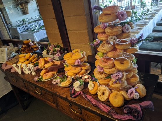 donut tower stand hire auckland nz