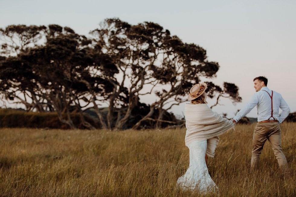 Golden Sunset Love Elopement Styled Shoot