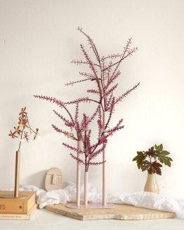 minimalist bud vase blush pink hire nz